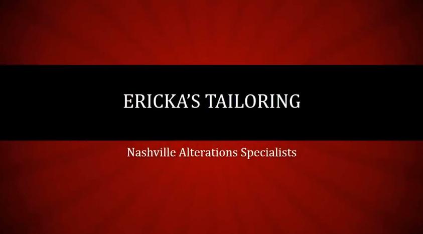 Ericka's Tailoring